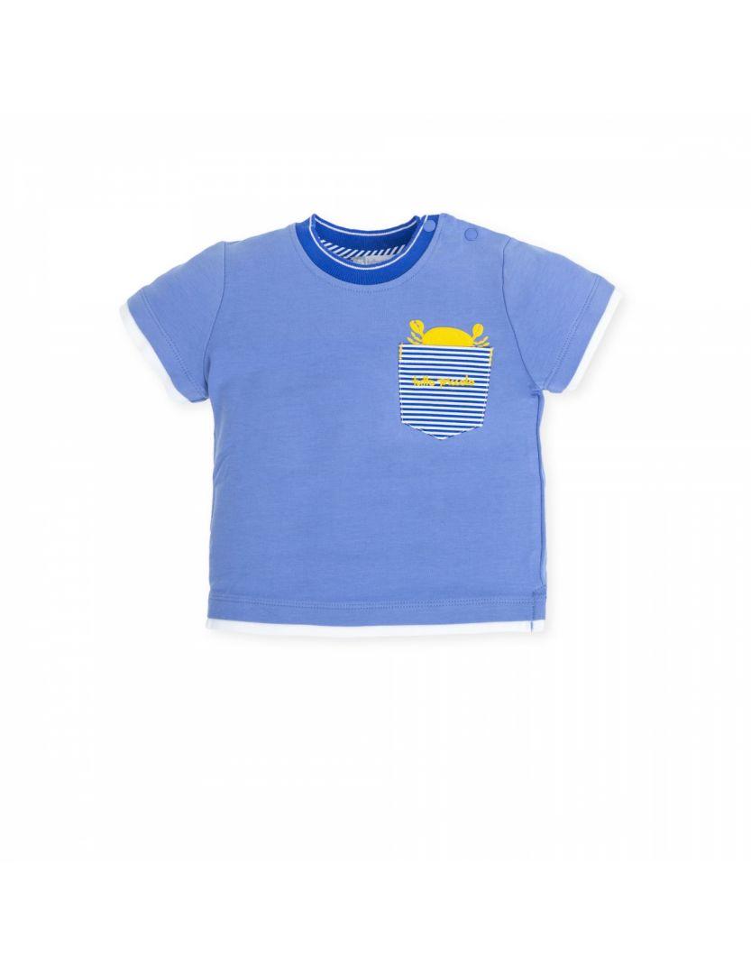 100% autentic frumos ieftin detalii pentru Haine de Firma Copii | Tricou albastru Baieti | Growing Up with Style