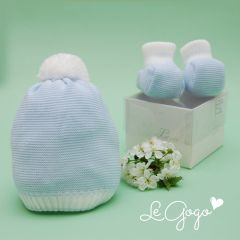 Botosei tricotati pentru bebelusi