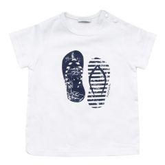 T-Shirt cu flip-flop Nanan,de baieti