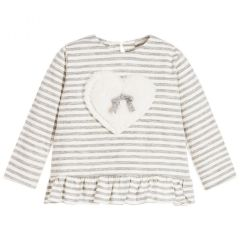 T-shirt Nanan cu  Inima Aplicata