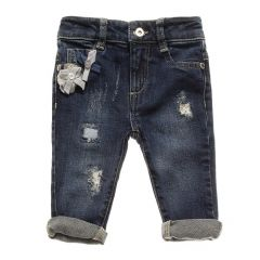 Jeans Nanan cu Aplicatii