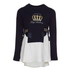 Bluza Fete cu Coroana si Funde