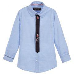 Camasa cu Cravata Lapin House pentru Baieti