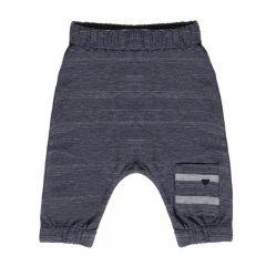 Pantaloni Piquet Blu Nanan