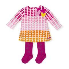 Set Rochie Multicolora cu Ciorapi Agatha